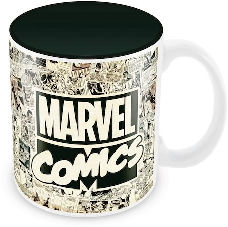 Marvel Comics Art Ceramic Mug