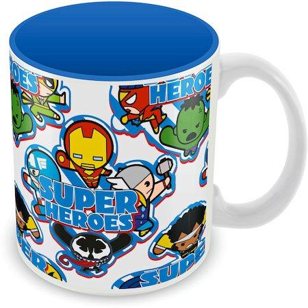 Marvel Kawaii Art - Superheroes Ceramic Mug