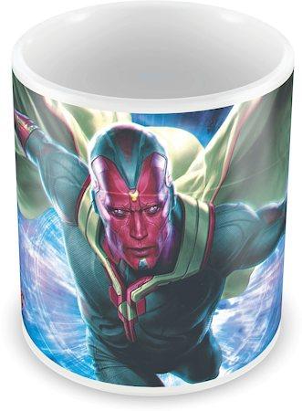 Marvel Vision in Action - Avengers Ceramic Mug