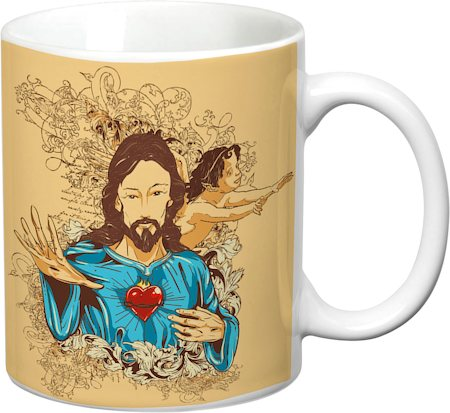 Prithish Bless Us White Mug