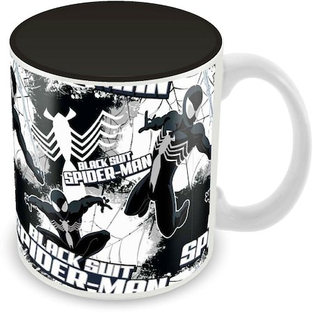Marvel Spider-Man Black Suit Ceramic Mug
