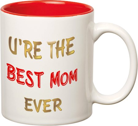 Prithish Best Mom Ever Double Color Mug