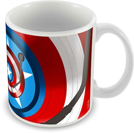 Marvel Captain America - First 75 Years Ceramic Mug