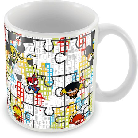 Marvel Kawaii Design - Avengers Ceramic Mug