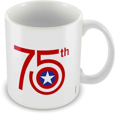 Marvel Captain America - 75 Ceramic Mug