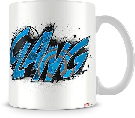 Marvel The First Avenger Ceramic Mug