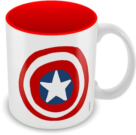 Marvel Captain America - 75 Years Classic Design Ceramic Mug
