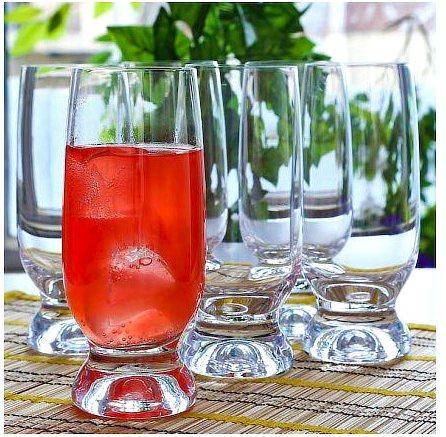 Bohemia Crystal Gina Beer Glass, 260 ml - set of 6
