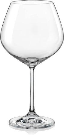 Bohemia Crystal Viola Wine Glass, 570 ml - set of 6