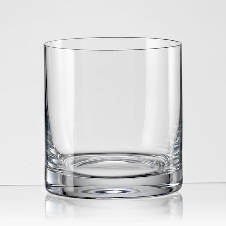 Bohemia Crystal Barline Whiskey Glass, 280 ml - set of 6