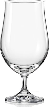 Bohemia Crystal Club Beer Glass, 380 ml - set of 6
