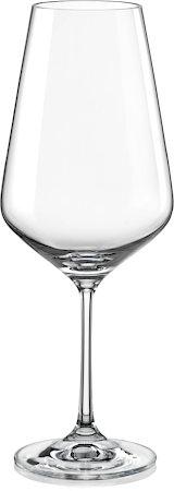 Bohemia Crystal Sandra Wine Glass, 550 ml - set of 6