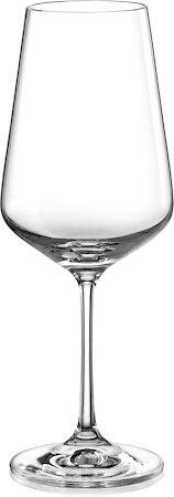 Bohemia Crystal Sandra Wine Glass, 450 ml - set of 6