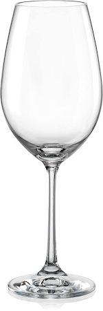 Bohemia Crystal Viola Wine Glass, 350 ml - set of 6
