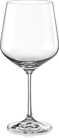 Bohemia Crystal Sandra Wine Glass, 570 ml - set of 6