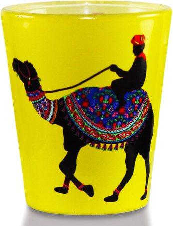 Kolorobia Desert Camel Shot Glass, 30 ml - set of 2