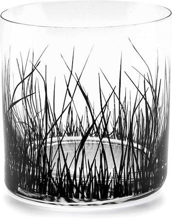 Bohemia Crystal Barline Grass Whiskey Glass, 280 ml - set of 6
