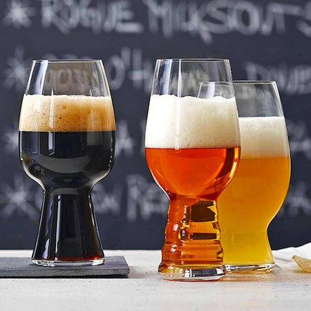 Spiegelau Craft Beer Tasting Kit IPA, Stout and Wheat Beer Crystal Glass - 3 pcs