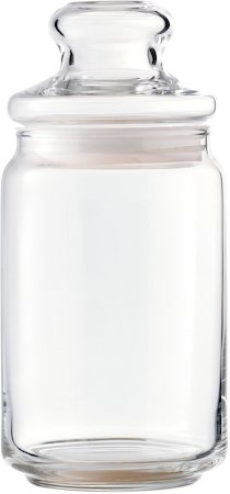 Ocean Pop Storage Jar, Medium - set of 6