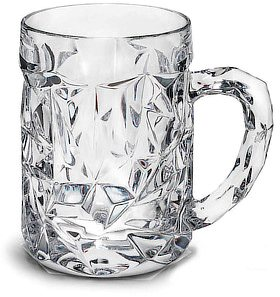 Nachtmann Cut Beer Mug, 525 ml