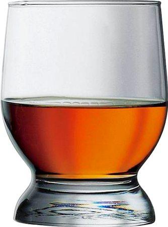 Pasabahce Aquatic Whisky Glass, 315 ml - set of 6