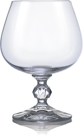 Bohemia Crystal Claudia Wine Glass, 190 ml - set of 6