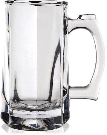 Lyra Hunter Beer Mug, 375 ml - set of 3