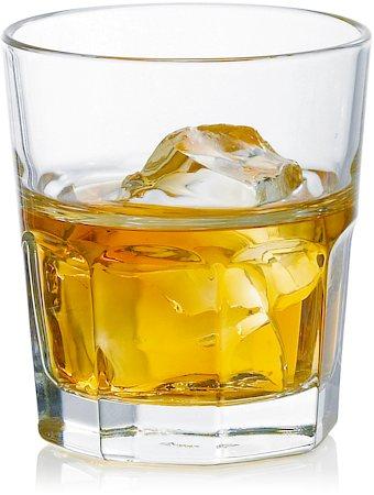 Ocean Centro Rock Multi-Facade Designer Glass, 280 ml - set of 6
