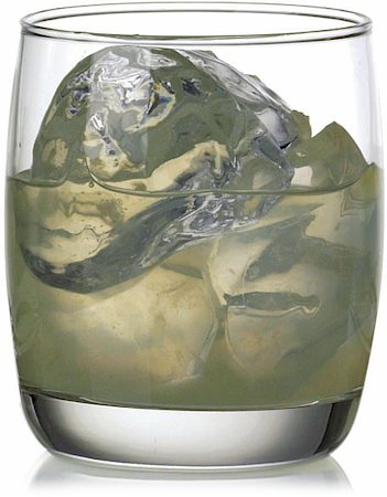 Ocean Ivory Rock Water Glass, 265 ml - set of 6