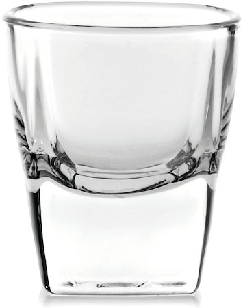 Ocean Plaza Shot Glass, 55 ml - set of 12