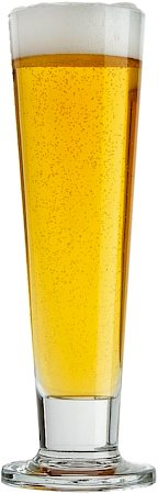Ocean Viva Footed Pilsner Beer Glass, 420 ml - set of 6