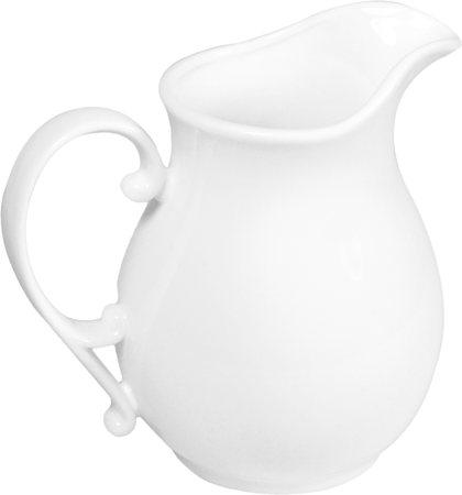 Wilmax ENGLAND Fine Porcelain Jug, 830 ml (White)