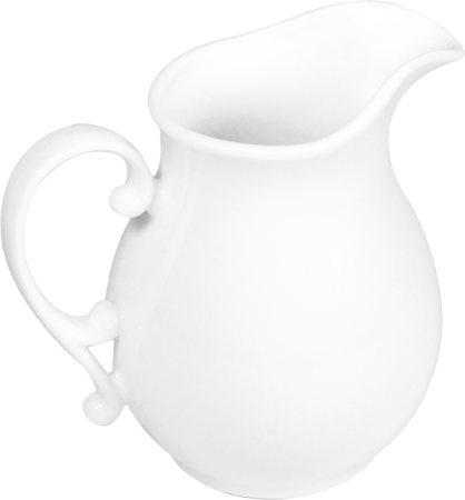 Wilmax ENGLAND Fine Porcelain Jug, 600 ml (White)