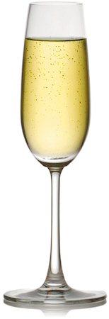 Ocean Madison Flute Champagne Glass, 210 ml - set of 6