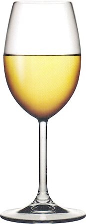 Pasabahce Stemware Sidera White Wine Glass, 245 ml - set of 6