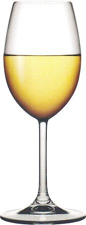 Pasabahce Stemware Sidera White Wine Glass, 245 ml - set of 6