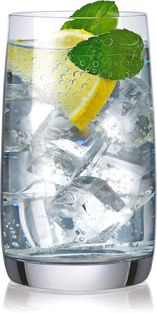 Bohemia Crystal Ideal Water Glass, 250 ml - set of 6