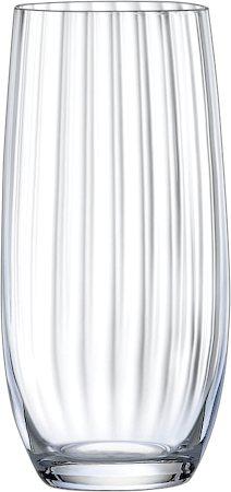Bohemia Crystal Club Waterfall Glass, 350 ml - set of 6